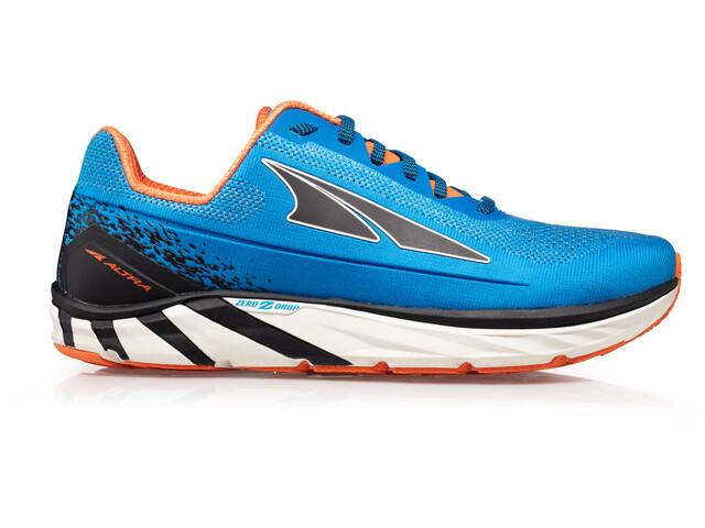Altra Torin 4 Plush Zapatillas Running Hombre, blue/orange
